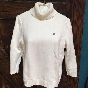 Ralph Lauren turtleneck 3/4  sleeve sweater